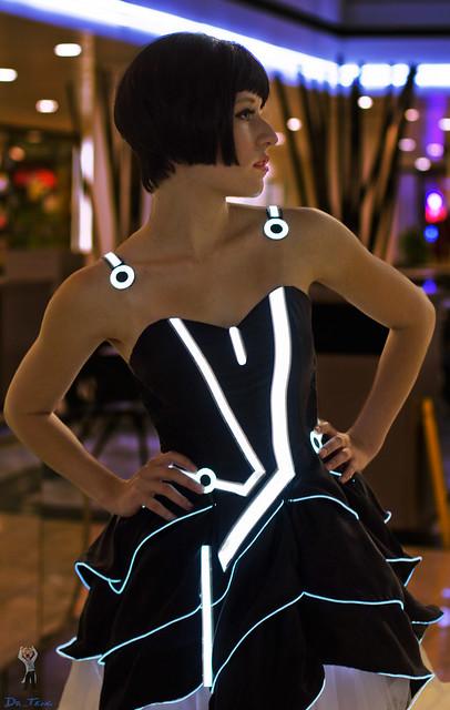 Scruffy Rebel - Tron Dress