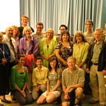 Elizabeth May with Green Party of Saskatchewan Candidates