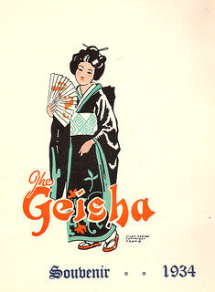 'The Geisha' Theatre Production, 1934