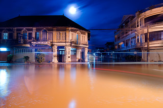 Flooded Street | by Chea Phal