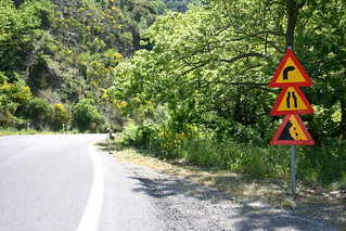 Dangerous Road Ahead, Greece | Three very relevant warning s