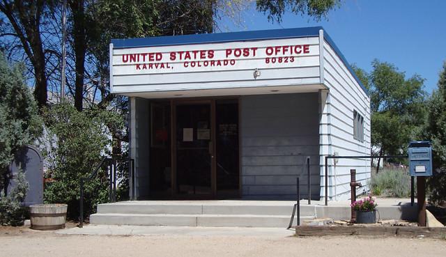 Post Office 80823 (Karval, Colorado)