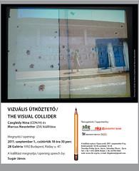 2011. augusztus 18. 16:00 - Czeglédy Nina & Marcus Neustetter: A vizuális ütköztető
