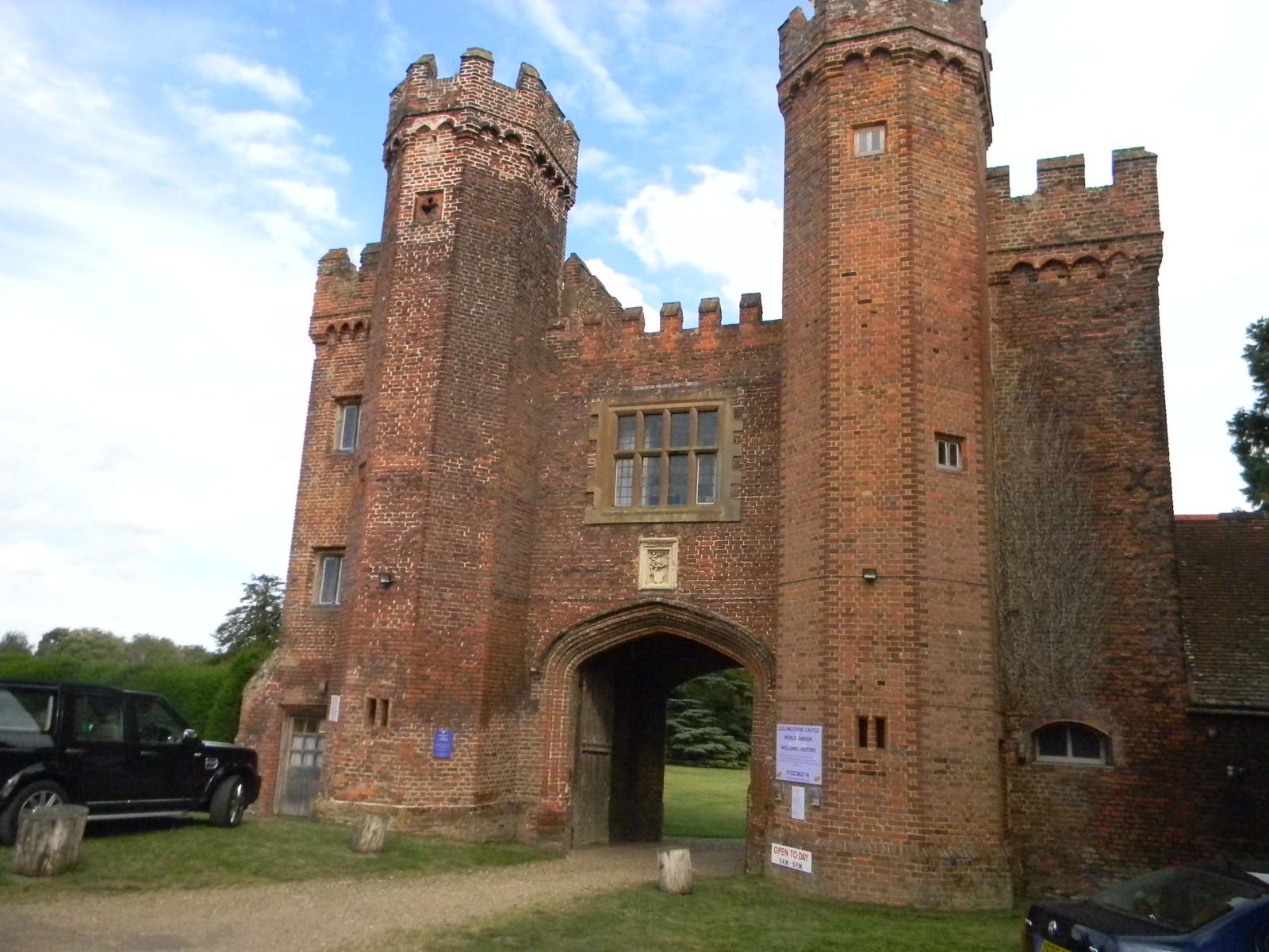 Tudor gateway Lullingstone Castle Eynsford Circular