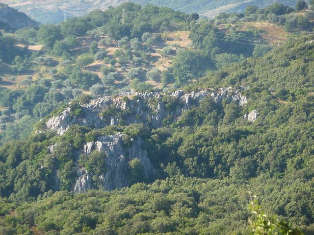 Strano complesso di roccia - Vallata dello Stilaro
