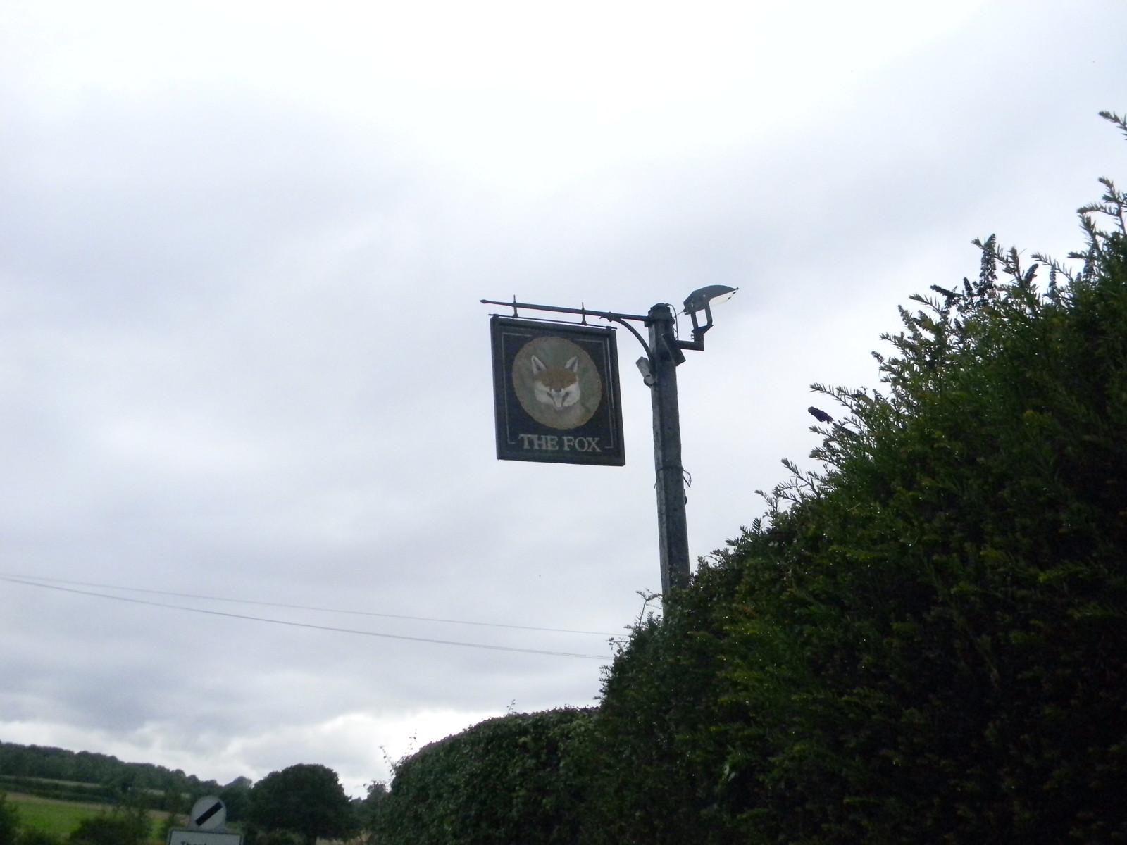 Welcome sign North Waltham. Overton Circular
