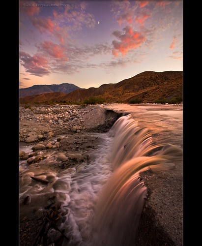 moon creek river waterfall whitewater dusk palmsprings cascade sangorgoniowilderness whitewaterpreserve
