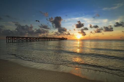 sunrise pier miami miamibeach sunnyisles pwpartlycloudy
