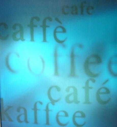 mi piace il caffè...