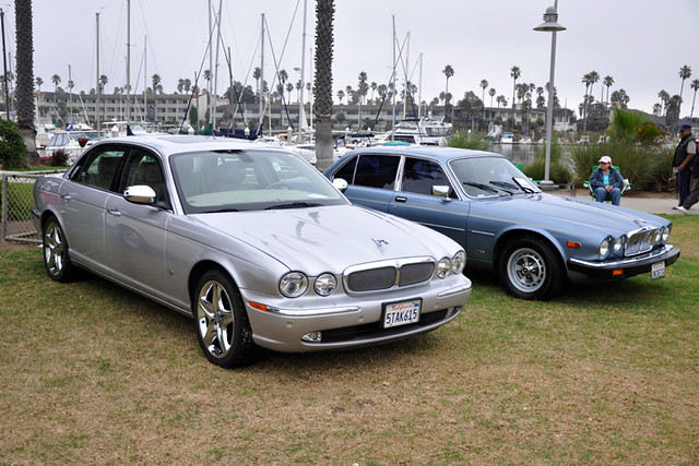Jaguar XJ's