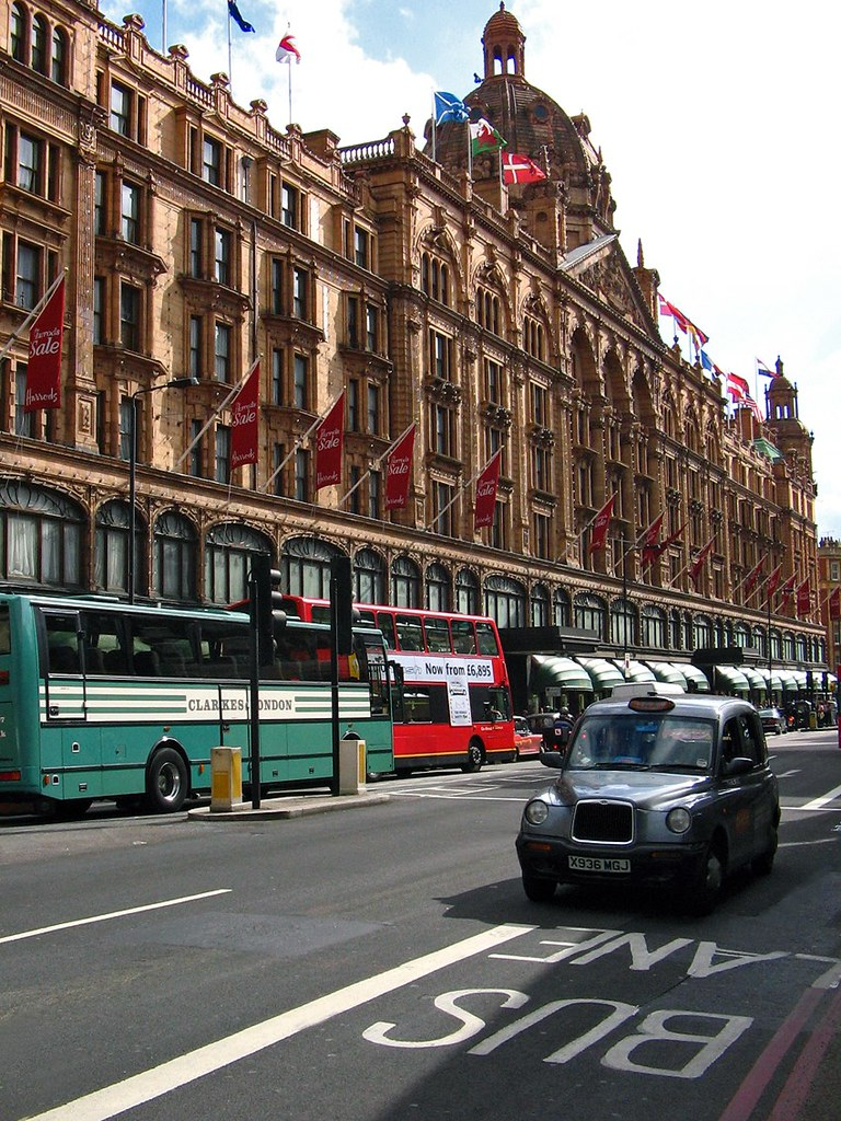 LONDON, LONDRES / Almacenes Harrods (29/07/2005)