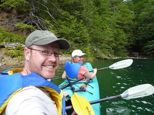 Strathcona Park Lodge - kayakken op Upper Campbell Lake - 3