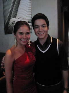 Louise delos Reyes and Alden Richards | by ederic
