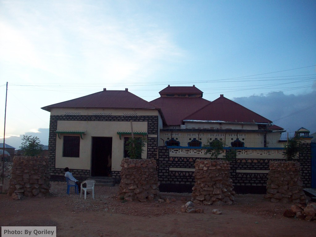 Nice house in Las Anod   Houses like this one are built in L