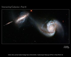 INTERACTING-GALAXIES-ARP-87