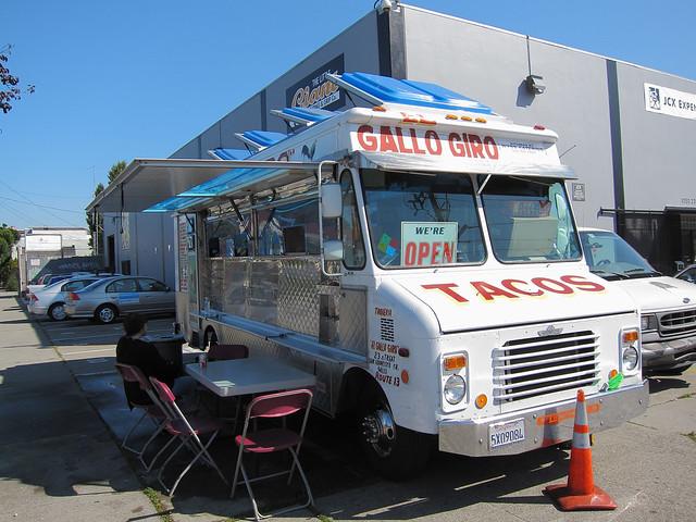 El Gallo Gina taco truck, San Francisco
