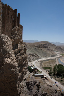 Road to Iran with castle