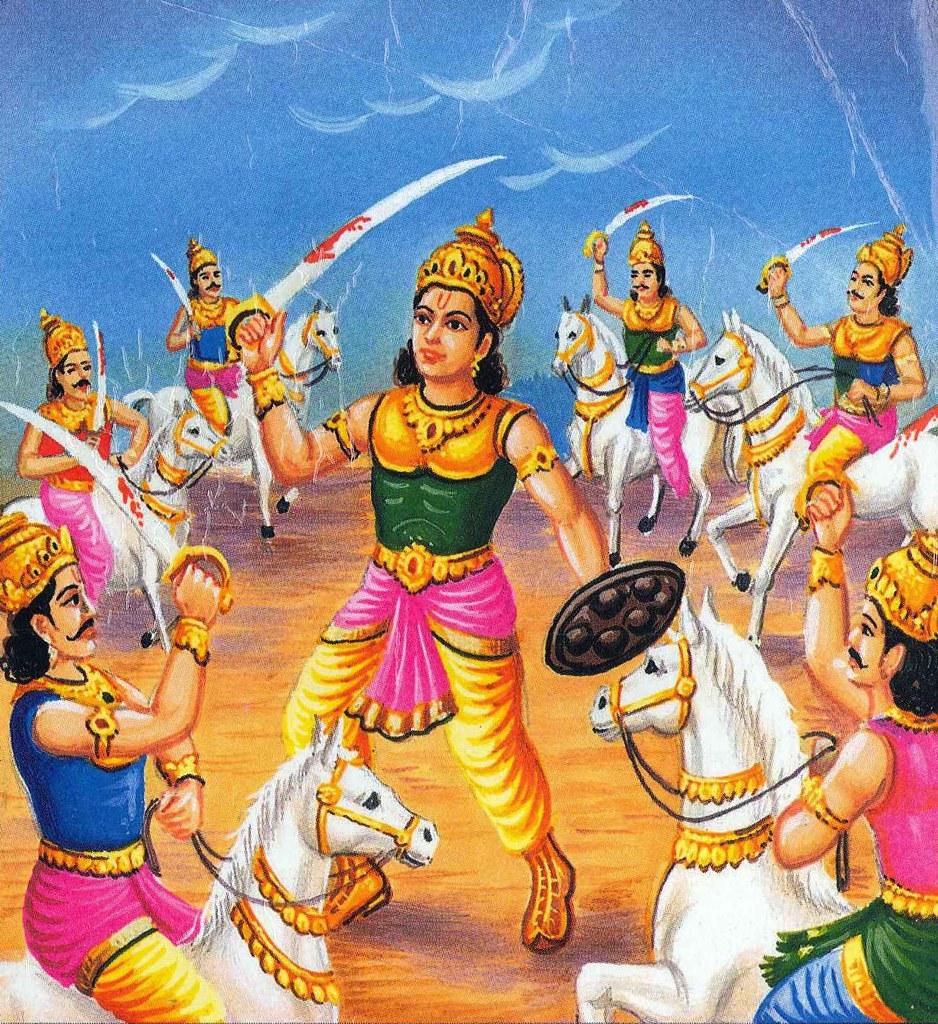 Image result for abhimanyu mahabharata