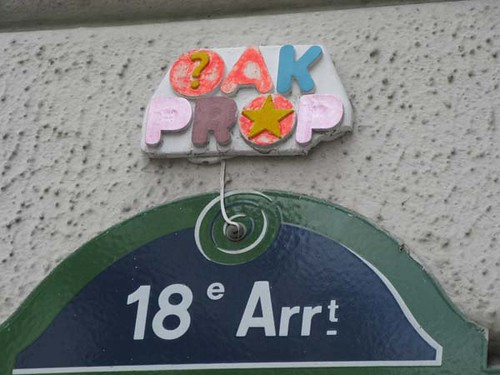 Paris, Oak & Prop