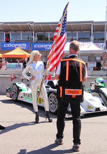 ALMS Grid Girl sexy Beautiful Hot American Le Mans IMSA Li… | Flickr