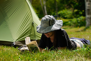Relaxing in Kyogoku Camping Ground, Kyogoku, Hokkaido, Japan | by Robert Thomson