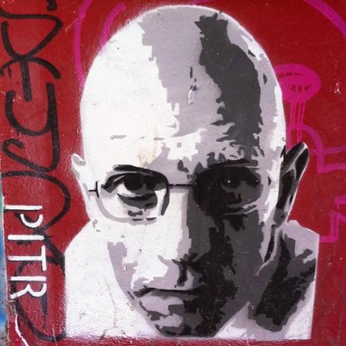 Michel Foucault by PITR