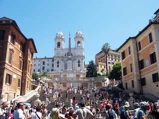 rome - spanish steps   by drencrome