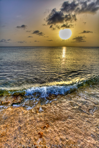 ocean sunset reflection art beach nature landscape photography photo outdoor fine picture wave shore caribbean hdr provo turksandcaicos providenciales malcolmsbeach