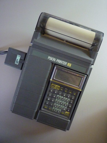 The Psion Printer II with Psion Organiser II LZ64 | by Nathan Chantrell