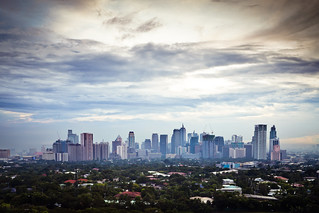 Different Faces of Makati - Sunset | by Benson Kua