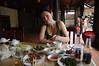 Le Mat, hadí pochoutky na stole, foto: Andrea Filičková