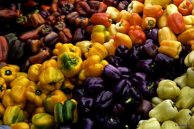 The Sweet Pepper Fruit Rainbow #2
