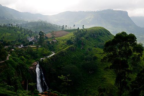 trip travel mountain landscape waterfall scenery tour tea greenery srilanka teatrails devonfalls teacastlestclair