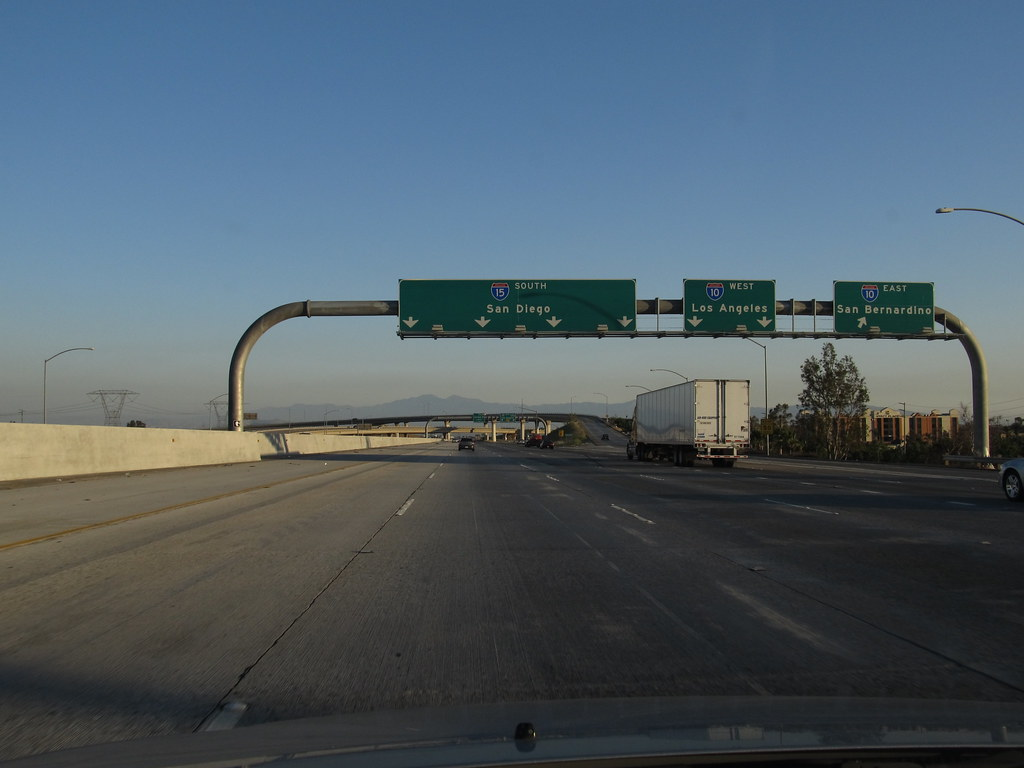 Junction Of I 15 And I 10 Ontario California Ontario Is Flickr