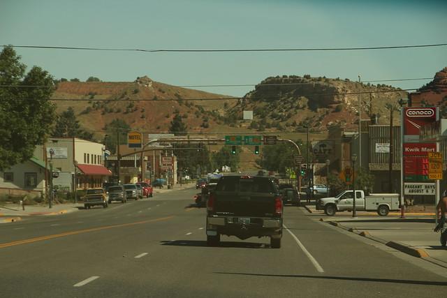 Downtown Thermopolis, Wyoming