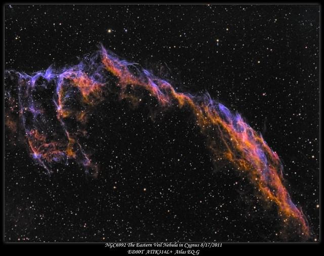 NGC6992 Tonal Map combined with Luminance 8172011