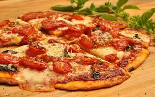 Mmm... celebrating with a pizza! | by jeffreyw