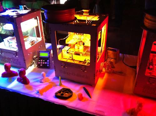 3D Printer @ Siggraph 2011 | by keepitsurreal