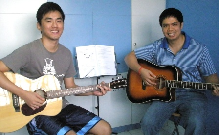 Adult guitar lessons Singapore Michael