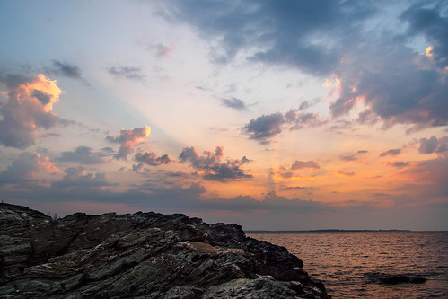 ocean morning wallpaper haven west clouds sunrise island coast long day weekend connecticut labor shoreline ct olympus september panasonic sound coastline sunrays crepuscular 2015 ep5 12mm32mm