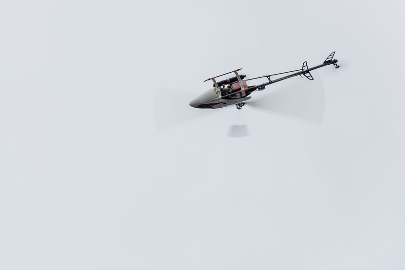 John Dane flying his Raptor.