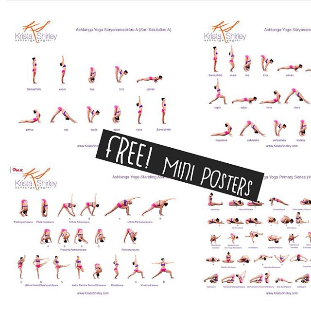Free Ashtanga Yoga Primary Series Practice Resources Cl Flickr