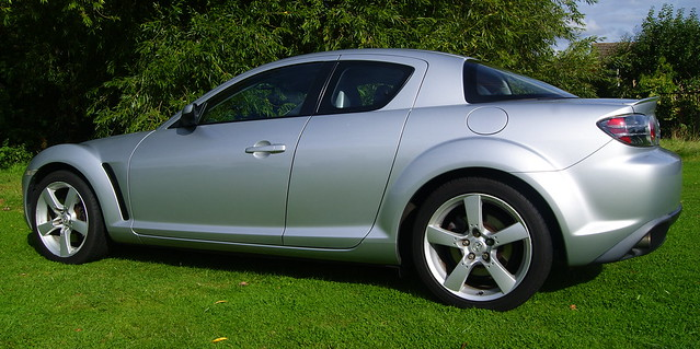 RX8 Side View