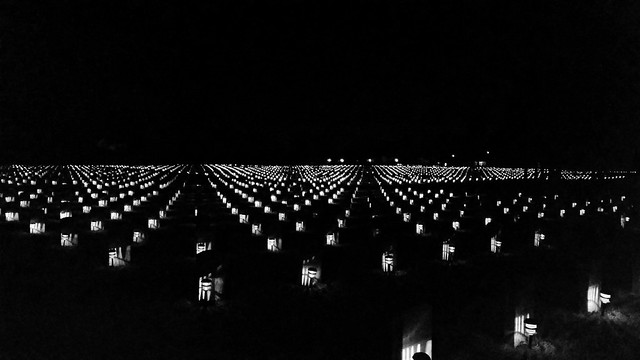 THANK YOU VETERANS!!-IN, Marion-Marion National Cemetery Solar Lights