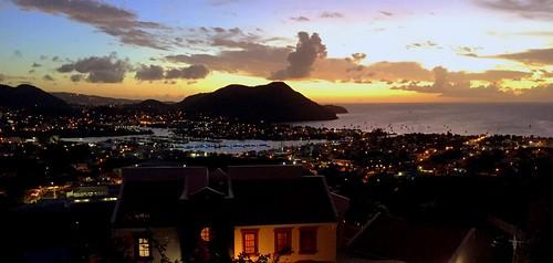 sunset marina sonnenuntergang sundown caribbean sailboats stlucia caraïbes karibik rodneybay couchedesoleil explored