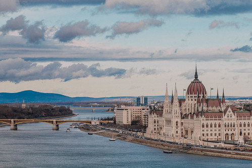 landscape budapest wideangle riverdanube hungarianparliament cloudformations sigma1835mmf18