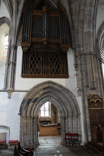 The organ, Brecon Cathedral | by pluralzed