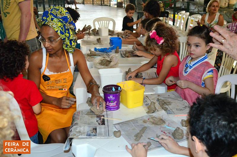 31 feira de ceramica oficina para criancas 2016