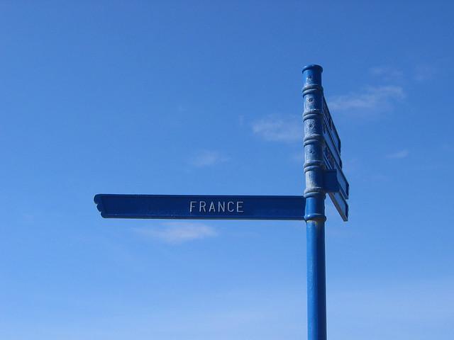 Direction sign at Bognor Regis
