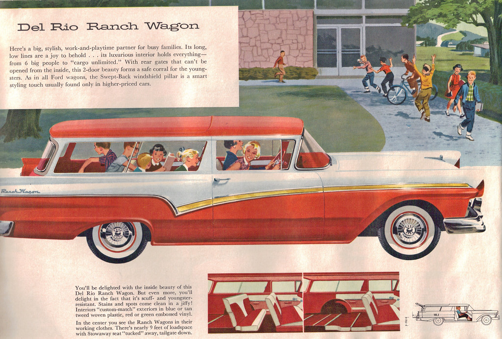 1957 Ford Del Rio 2 Door Station Wagon | coconv | Flickr